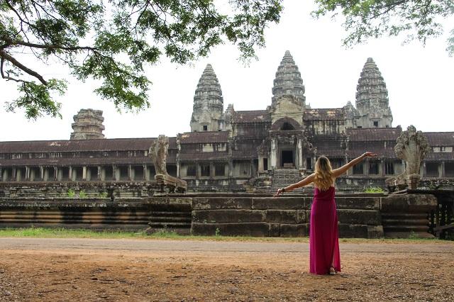 Viajar a Camboya, Angkor Wat Judit