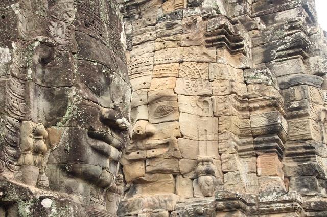 Templo de Bayón en Camboya