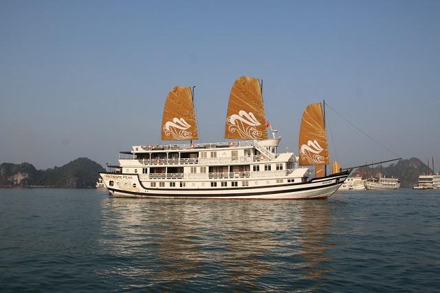 Barco Paradise Cruises Bahia de Halong