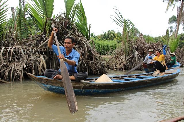 Delta Mekong cerca de Ho Chi Minh