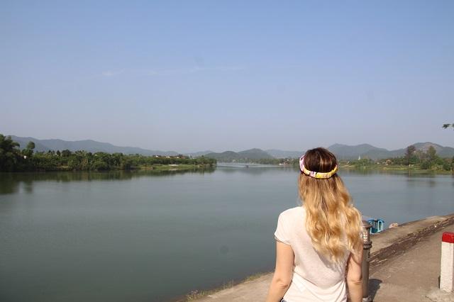 Qué ver en Hué, río Perfume