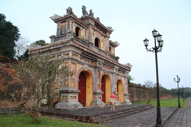 Que ver en Hue, Puerta Ciudadela