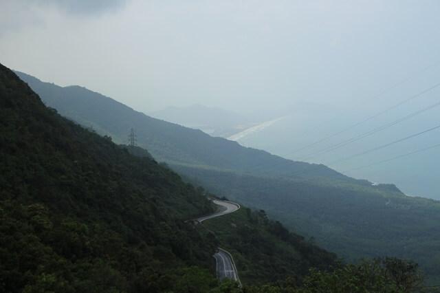 Típica foto Hai Van Pass