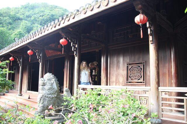 Montaña de mármol templo, Vietnam