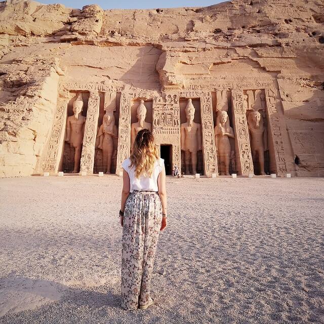 Abu Simbel, templo Nefertari