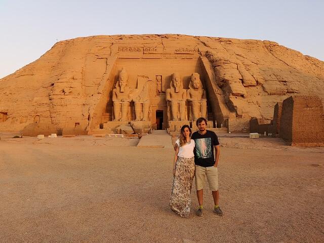 Templo Ramses II en Abu Simbel