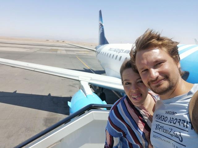 vuelo Hurghada a El Cairo