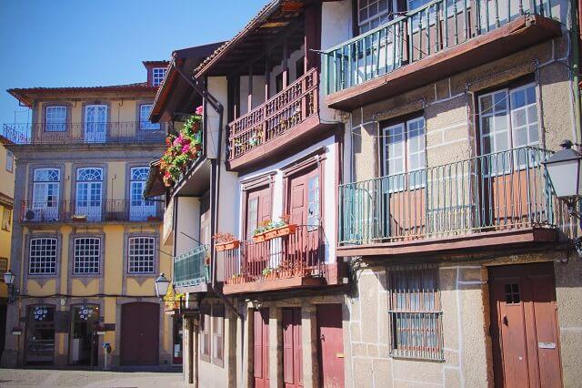 Que ver en Guimaraes, sus casas