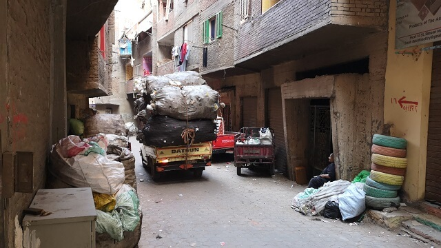 Ciudad de la basura, el Cairo