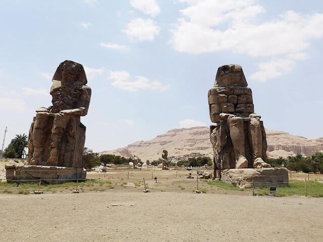 Colosos de Memnón Luxor