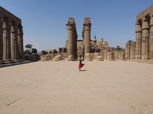 Es seguro Egipto, cuidado con el calor