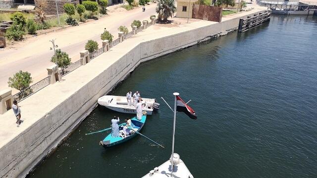 Es seguro viajar a Egipto, control en el Nilo