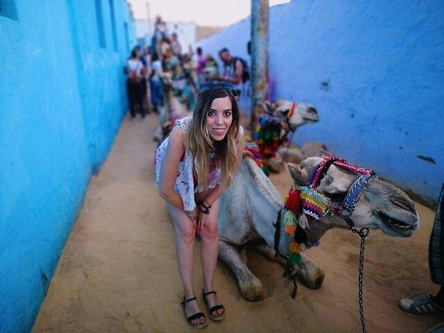 Excursion camellos Egipto