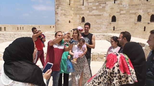 Fortaleza Alejandria Egipto