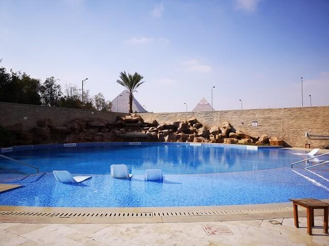 Piscina Hotel Merydien El Cairo