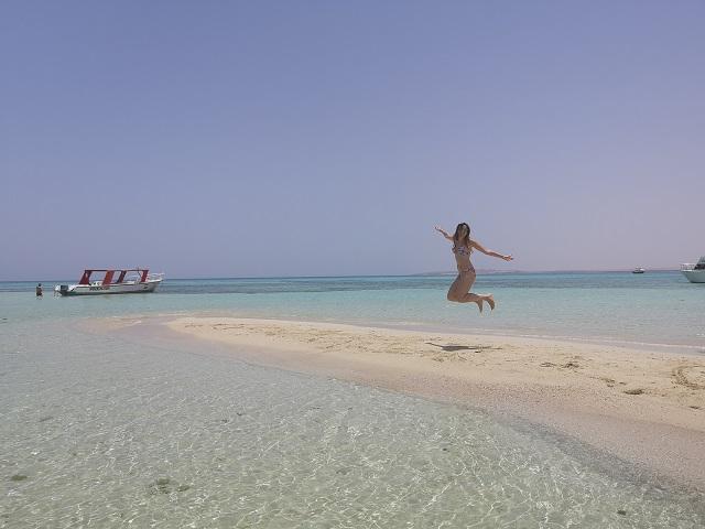 Playa en Hurghada
