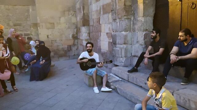 Música callejera en el Cairo