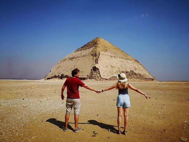 Pirámide corvada de Dahshur Egipto