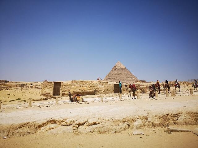 Piramide de Kefren en Giza