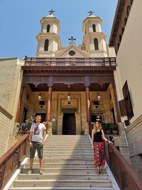 Iglesia Colgante del barrio Copto