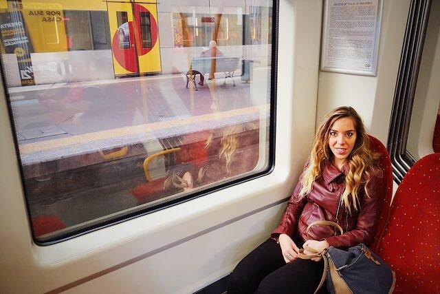 tren de Oporto a Guimaraes