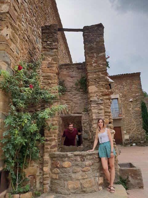 Pozo en Plaça Jaume I, Monells