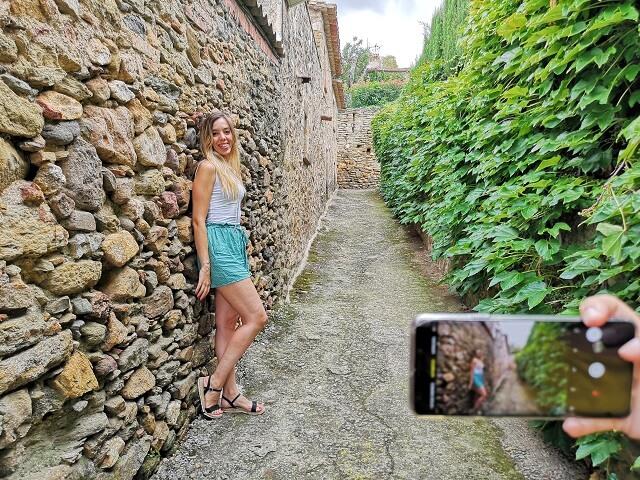 Calles medievales en Monells