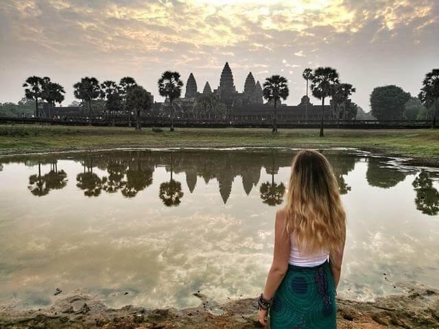 Angkor Wat, amanecer