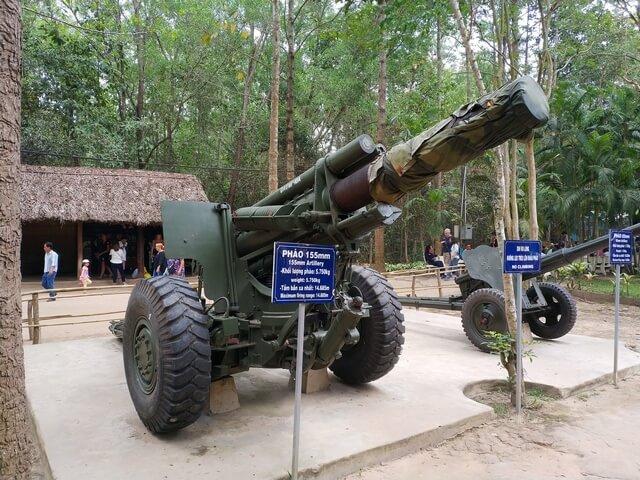 Armamento guerra del vietnam
