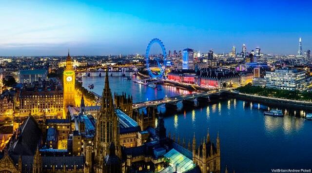 Ciudades del Reino Unido, Londres