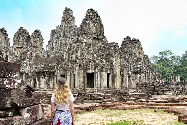 Angkor Bayon, templo de las caras