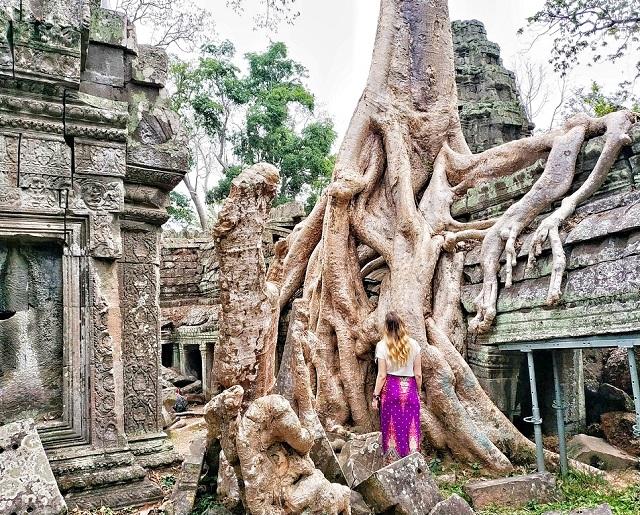 Ta Prohm, templo de Tomb Raider
