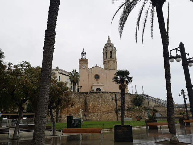 Iglesia San Bartolome y Santa Tecla Sitges