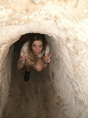 Tuneles de cuchi