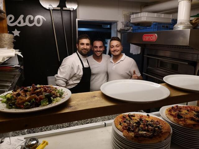 Pizzeria Francesco Sitges Cocineros (1)