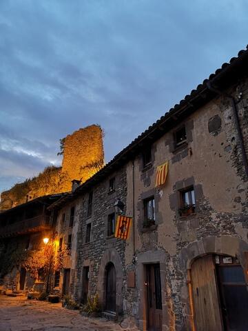 Restos del Castillo de Rupit