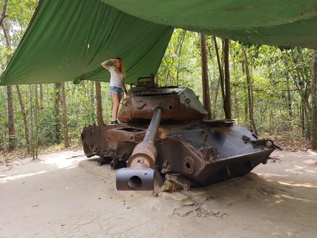 Tanque guerra del Vietnam