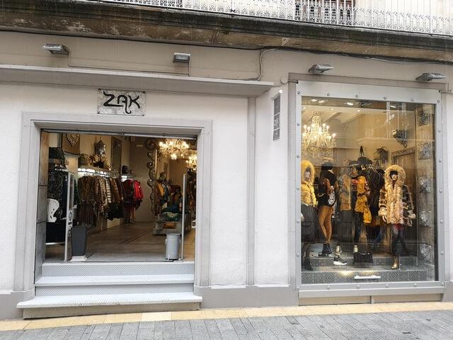 Tienda ZAK en Sitges
