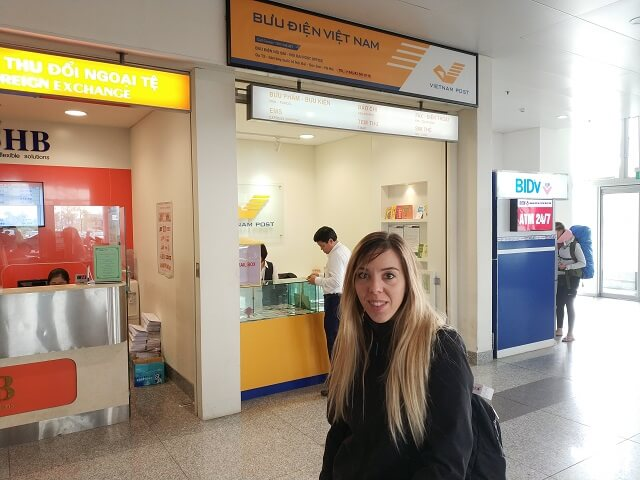 cambio moneda en aeropuerto