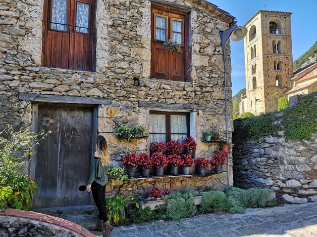 Casas de piedra de Beget