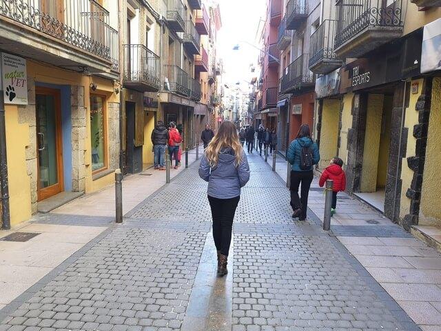 Paseando por la Calle Valencia