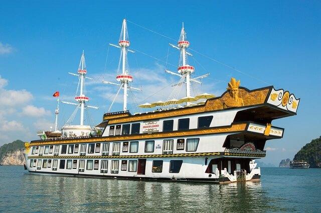 Crucero de lujo bahia de halong