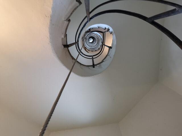Escalera torre Masia Freixa