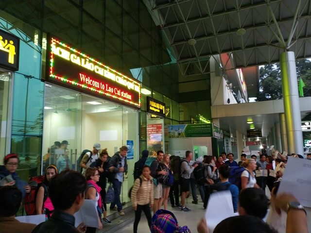 Estación de tren Lao Cai