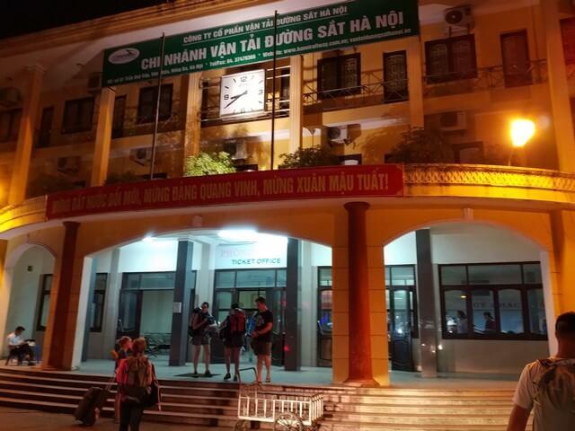 Estacion Hanoi a Sapa