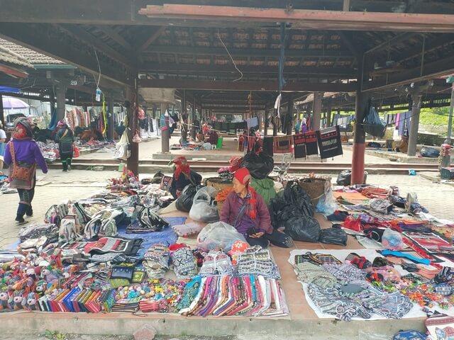 Mercado de Sapa Vietnam
