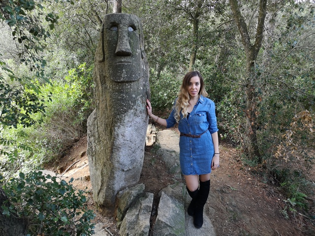 Moai Bosque encantado