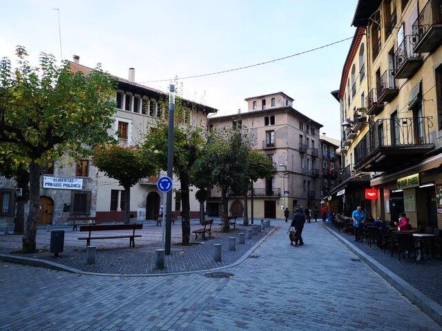 Plaza Ayuntamiento Camprodon
