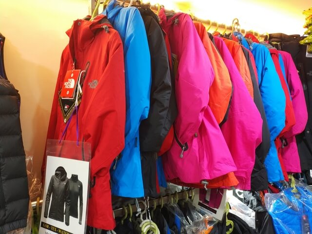 Tiendas Hanoi North Face