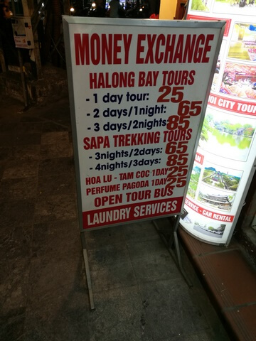 precios bahia de halong en hanoi